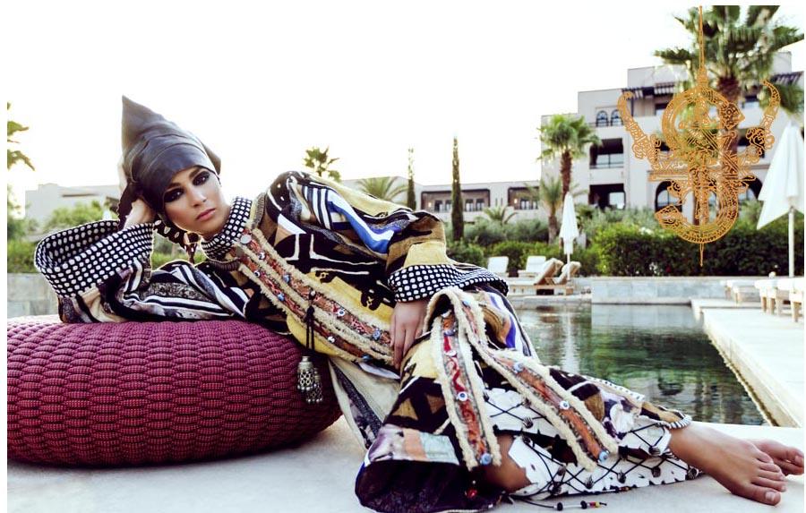 """Mujeres Mujeres La polifacética diseñadora Salima Abdel-Wahab crea ropa de """"segunda piel"""" de inspiración oriental que se ajusta a cualquier personalidad"""