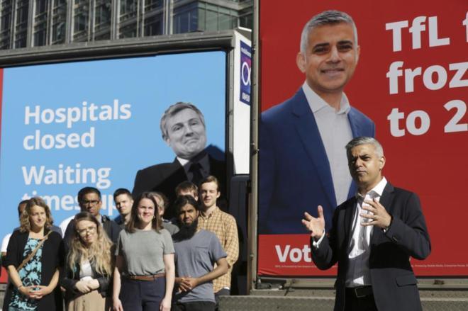 Internacional Internacional Sadiq Khan, primer alcalde musulmán de Londres
