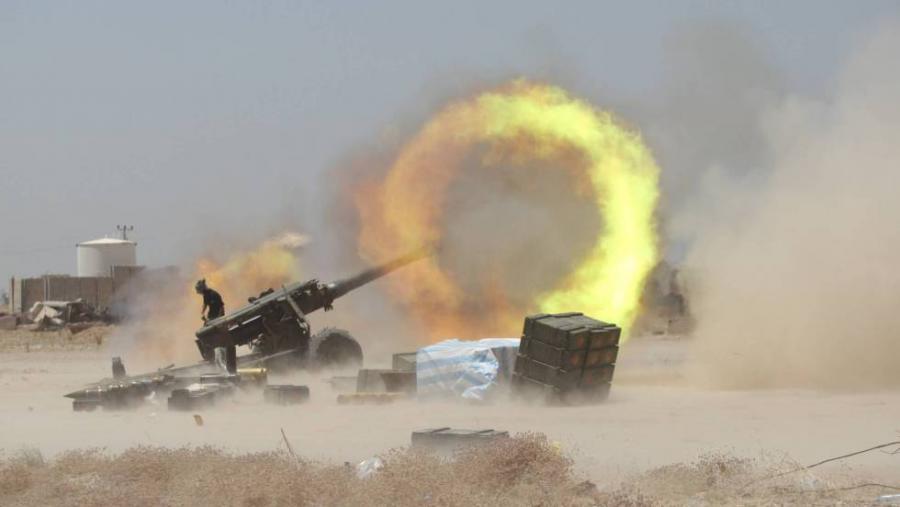 Portada  Tropas iraquíes ya combaten al ISIS en las calles de Faluya