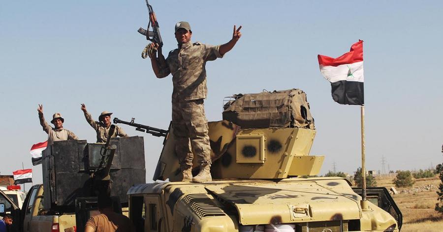 Portada  Las fuerzas iraquíes entran en Faluya y se hacen con el control de una comisaría de policía