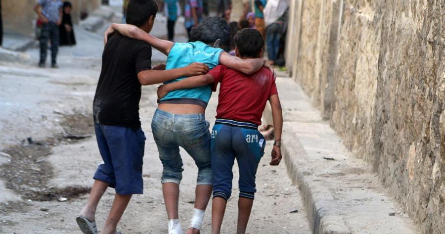 Portada  Más de 40 muertos en ataques yihadistas en la ciudad siria de Alepo