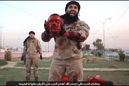 Portada  [VÍDEO] El macabro tributo del ISIS por la matanza de Niza: dos cabezas sangrientas para Mohamed Bouhlel