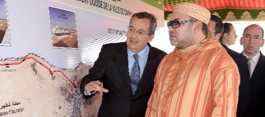 Portada  Mohamed VI, de rey a magnate