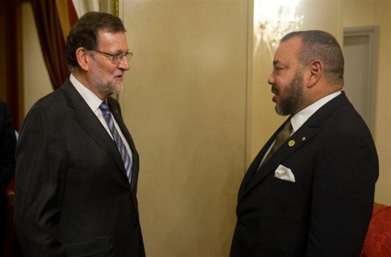 """Portada  Rajoy, tras su """"muy buena"""" reunión con Mohamed VI: """"Tenemos una colaboración ejemplar en temas capitales"""""""