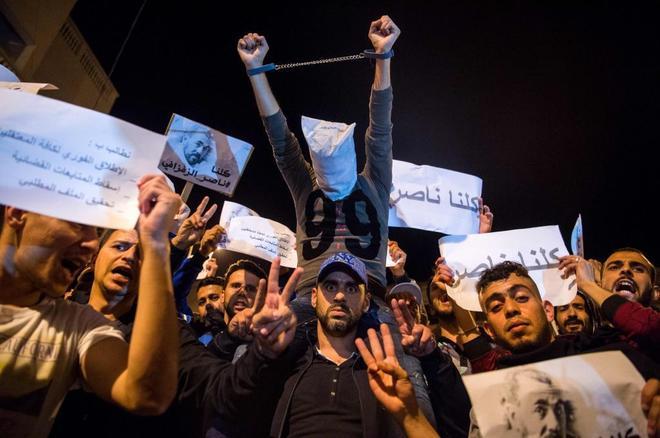 Portada  Las protestas incendian el Rif