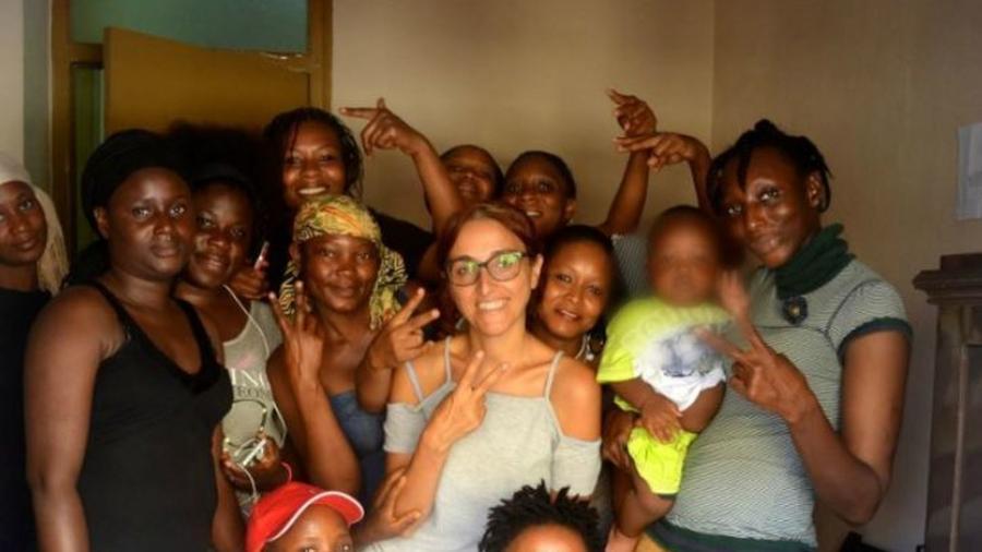 Portada  Amenazas y tocamientos: el calvario de la activista española de la frontera con Marruecos