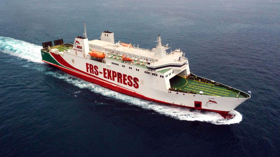Portada  La naviera FRS adquiere un nuevo buque para la línea Motril-Tánger