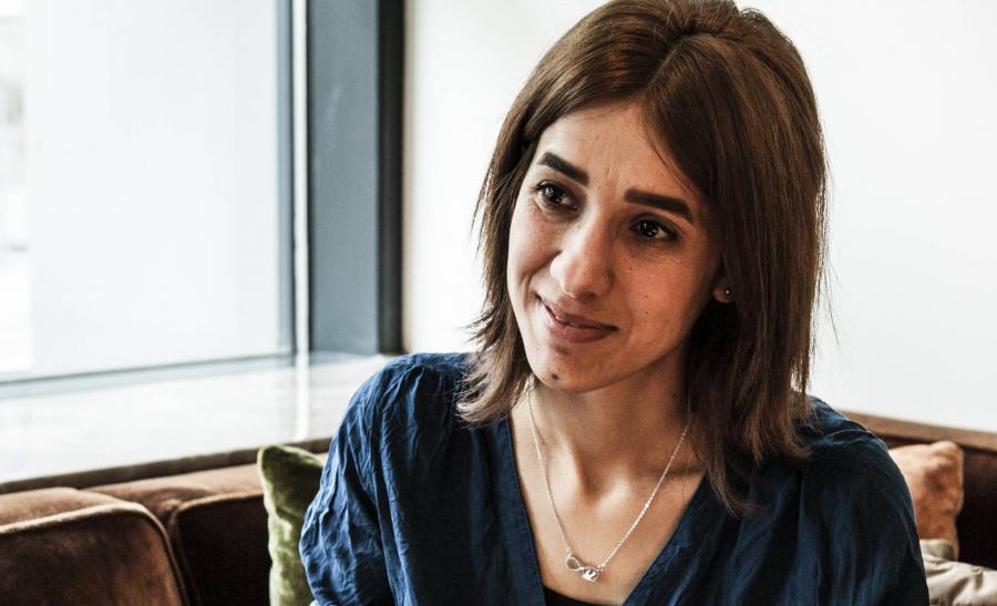 Portada  Nadia contra el Estado Islámico