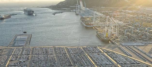 Portada  Tanger Med, el puerto que le está dando la vuelta al norte de Marruecos