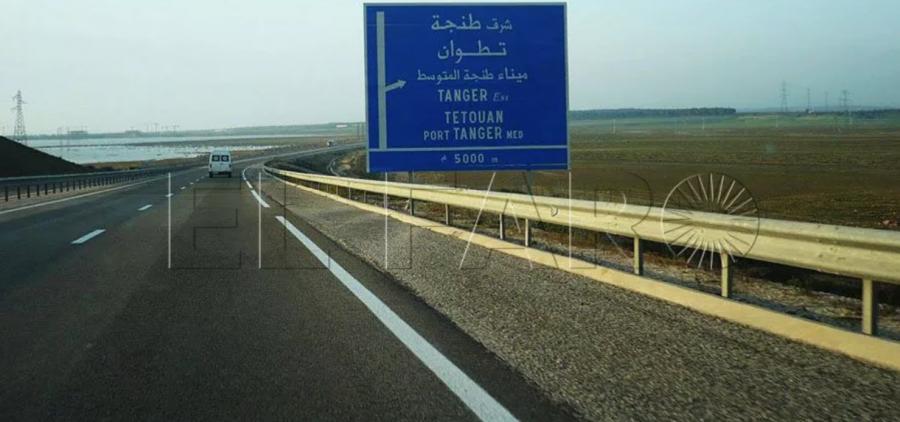 Portada  Cuatro subsaharianos sufren un brutal atropello en la vía de Tánger