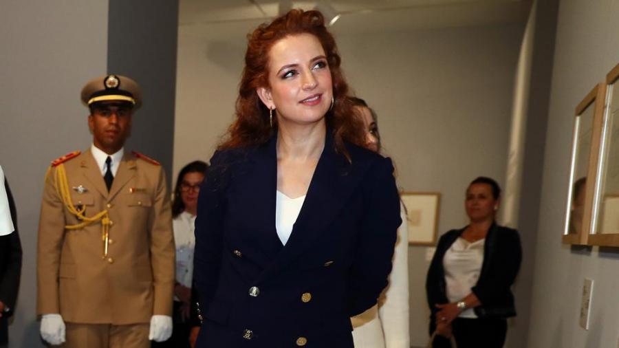 Portada  La princesa de la igualdad en Marruecos sale de palacio