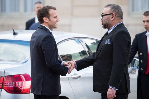 Portada  La situación en Medio Oriente en el corazón de los intercambios entre Mohammed VI y Emmanuel Macron