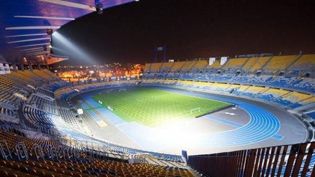 Portada  El estadio de Tanger para la Supercopa, sin luz por impagos