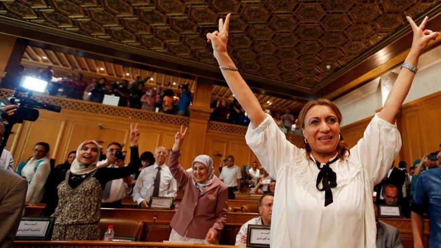Portada  Suad Abderrahim, la primera jequesa de Túnez