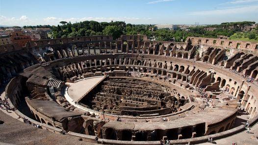 Turismo Turismo Descubren el piso original del Coliseo romano