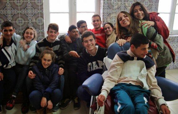 Portada  Nueve alumnos del Claret viven la Semana Solidaria en Tánger