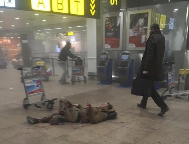 Portada  El Estado Islámico reivindica  los atentados terroristas en Bruselas