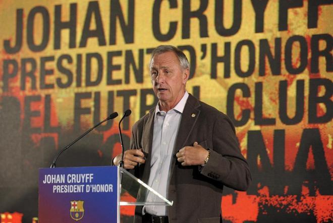 Deportes Deportes Johan Cruyff, ante el drama, aquel 20 de octubre