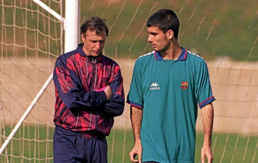 """Deportes Deportes FC Barcelona: Pep Guardiola: """"No sabía nada del fútbol hasta que conocí a Cruyff"""""""
