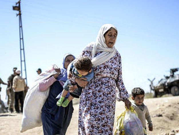Internacional Internacional Estado Islámico ejecuta a familias enteras en Irak y tira sus cuerpos al Éufrates
