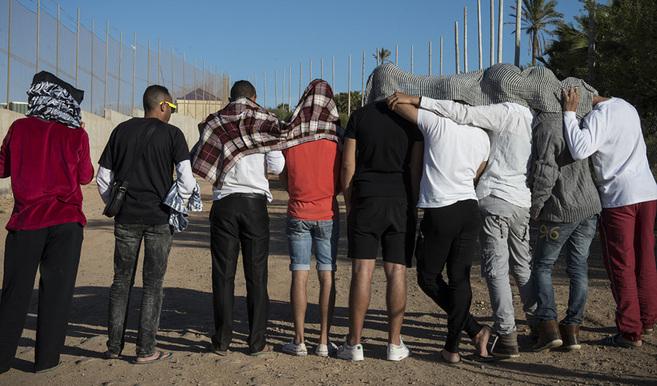 Portada  La valla gay de Melilla