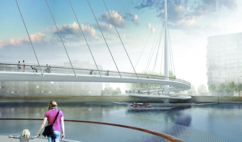 Inmobiliaria Inmobiliaria Una obra maestra de la ingeniería: así será el nuevo puente peatonal de Londres