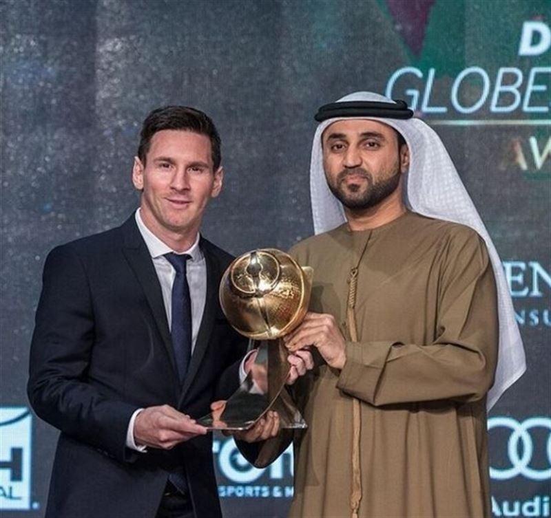 Deportes Deportes Messi y el FC Barcelona copan los Globe Soccer Awards en Dubai