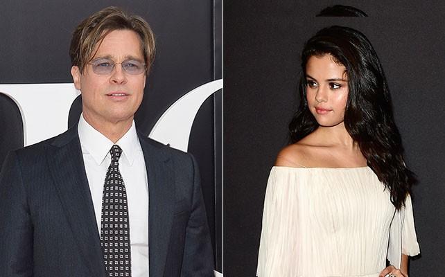 Gente Gente Selena Gómez revela de qué habló con Brad Pitt en los Globos de Oro