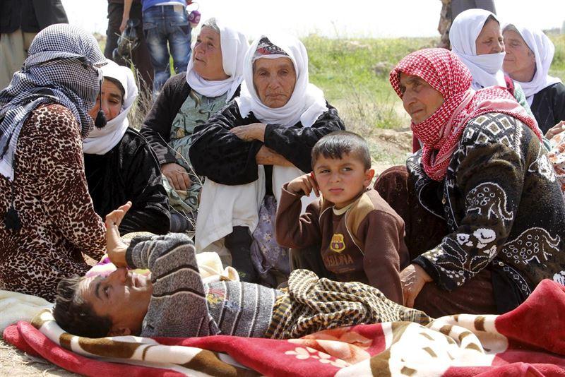 Internacional Internacional Estado Islámico tiene unos 3.500 esclavos en Irak, principalmente mujeres y niños