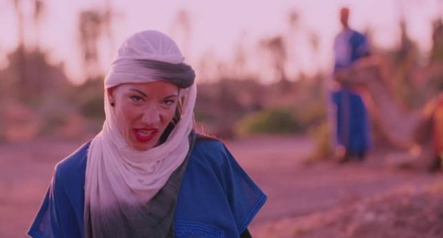 Portada  La romántica luna de miel de Jonathan y Sabrina en Marrakech